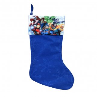 Avengers Kids Christmas Stocking Home Decor 15.5 In