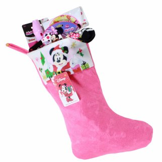 Minnie Mouse Kids Christmas Stocking Filled with Toys 9 Pieces