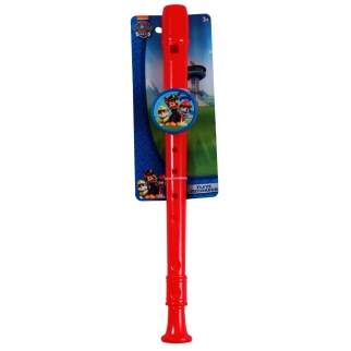 Nickelodeon Paw Patrol Flute Recorder Kids Music Instrument Toy Red Retail Packaging