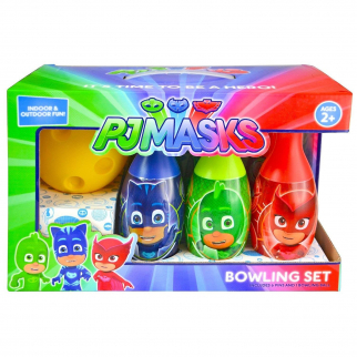 Disney PJ Masks Heroes Villans Bowling Pin Party Indoor Outdoor Family Play Set