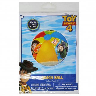 Disney Pixar Toy Story 4 Inflatable Beach Ball Kids Pool Toy with Repair Kit