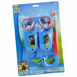 Nickelodeon Paw Patrol Kids Swim Accessories Set - 3 Pieces
