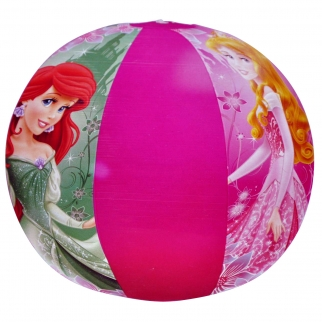 Disney Princess Girls Beach Toys Inflatable 20 Inch Pink Beach Ball