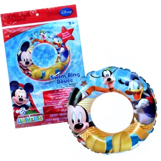 Mickey Mouse Clubhouse Inflatable Swim Ring - Outside of packaging
