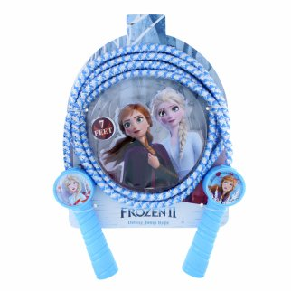 Disney Frozen 2 Deluxe Woven Girls 7ft Jump Rope