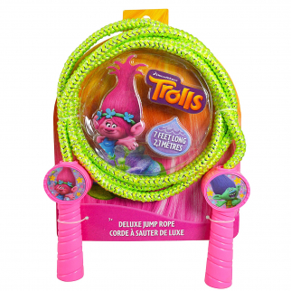 Trolls Girls Deluxe Jump Rope Molded Handles