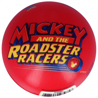 Disney Foam Ball Mickey Roadster Racers 3 Inch Kids Sports and Play