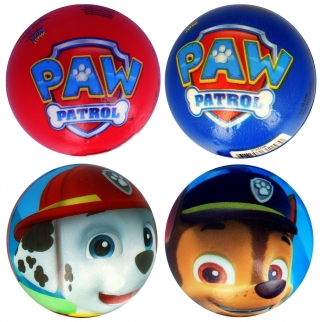 Both Foam Ball Designs Front and Back