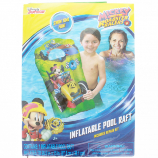 Mickey Mouse 15 x 26 Kids Inflatable Pool Float Water Raft
