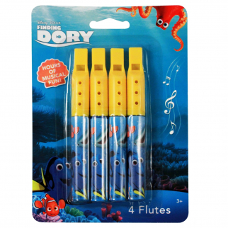 Disney Pixar Finding Dory Stocking Stuffer or Party Favor Toy Flutes 8 Total Toy Instruments