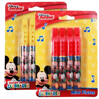 Officially Licensed Disney Mickey Mouse Red Harmonica Party Favor or Stocking Stuffer Music Toy Retail Packaging
