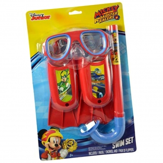 Disney Junior Mickey Mouse Kids Swim Accessories Set - 3 Pieces