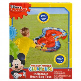 Disney Mickey Mouse Clubhouse Inflatable Bean Bag Toss Game