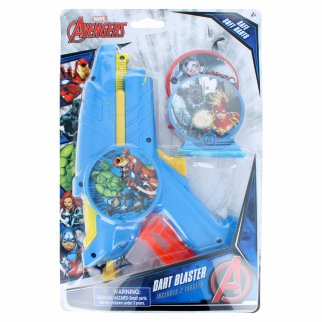 Marvel Avengers Super Hero Suction Dart Blaster with Targets