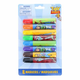 Toy Story 4 Licensed Art 8pc Kids Mini Felt Marker Set
