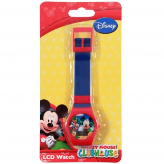 Blue Disney Mickey Mouse Kids LCD Digital Watch Stocking Stuffer