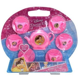 Disney Princess Girls Mini Tea Party Pretend Play Set 13pc