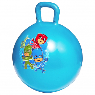 PJ Masks Kids Ride On Hopper Ball Exercise Toy Bouncing Fun Play - Blue