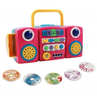 Kids CD Player with 5 Music Discs