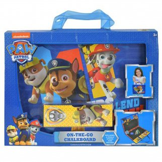 Paw Patrol On-the-Go Chalkboard Art Activity Creativity Amusement Set