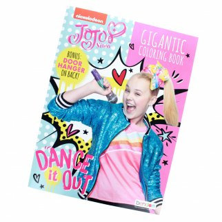 JoJo Siwa Dance It Out Gigantic Coloring and Activity Book