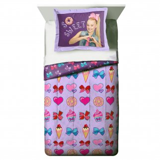 JoJo SIwa Girls Bedroom Set Comforter and Pillow Sham