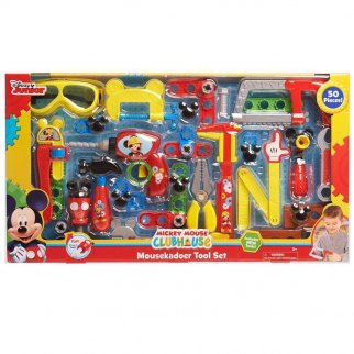Disney Mickey Mouse Roadster Pit Crew Pretend Play Tool Kit