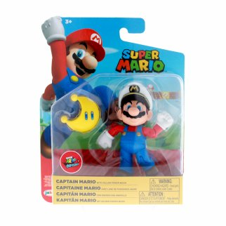 Nintendo Captain Mario Articulated Action Figure Power Moon