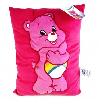 Care Bears Cheer Bear Kids Decorative 3D Plush Cuddle Pillow
