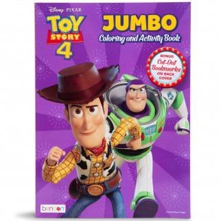 Toy Story 4 Jumbo Coloring And Activity Book