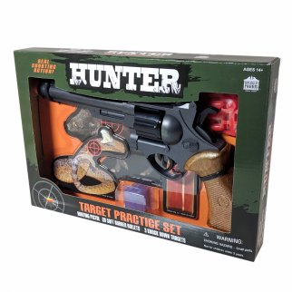 Parris Hunter Airsoft Target Practice Kit Toy Pistol Targets
