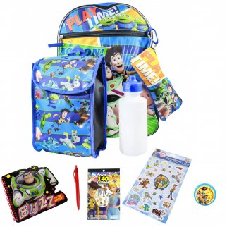 Disney Pixar Toy Story 4 5 Piece Backpack and Lunch Kit Set