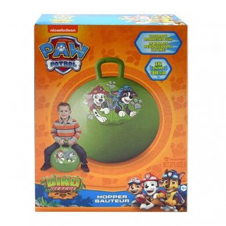 Paw Patrol Kids Ride On Hopper Ball Exercise Toy Bouncing Fun - Green