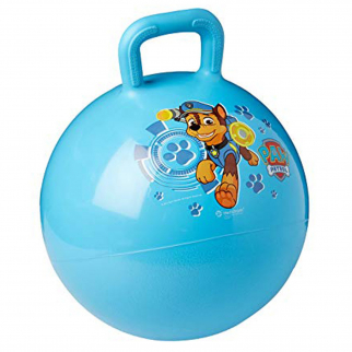 Paw Patrol Kids Ride On Hopper Ball Exercise Toy Bouncing Fun - Blue