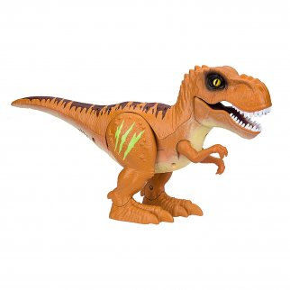 Zuru Alive Roaring And Stomping Robotic Dinosaur - Brown