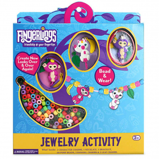Fingerlings Kids Friendship Jewelry Activity Set Necklace Bracelet Charms Beads