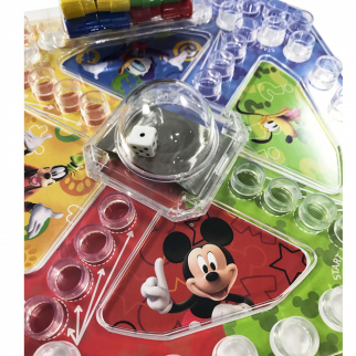 Disney Mickey Mouse and Friends Race to the Clubhouse Pop Up Game
