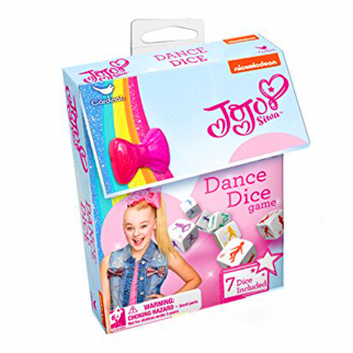 JoJo Siwa Dance Dice Game Mini Hair Bow Clip Kids Dice Games Promote Exercise