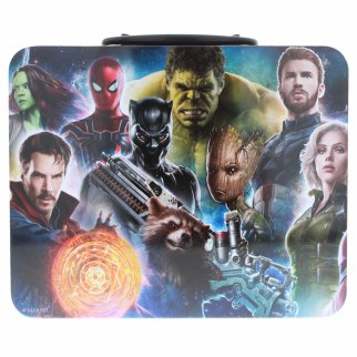 Avengers Infinity War Tin Lunchbox With 48 Piece Puzzle