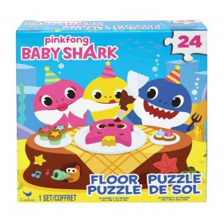 Pinkfong Baby Shark Family Party 24pc Floor Puzzle for Kids