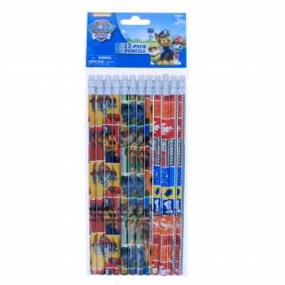 12pk Paw Patrol Pencils