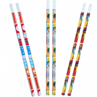 Nickelodeon Paw Patrol Kids Pencils 6 Piece Set Wooden Pencil School Supplies
