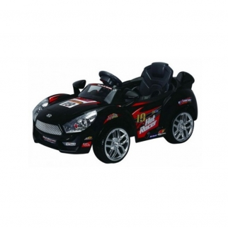 Sports Car 6V Kids Battery Powered Ride On Car in Black