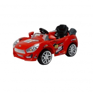 Sports Car 6V Kids Battery Powered Ride On Car in Red