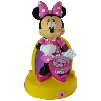 Disney Minnie Mouse Coin Bank