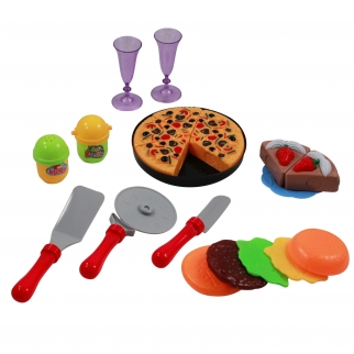 KidFun Pretend Play Kitchen Play Set - Pizza