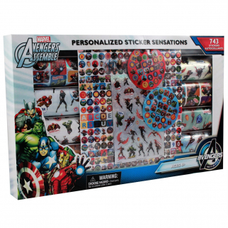 450pc Marvel Avengers Sticker Mania Set Kids Arts and Crafts