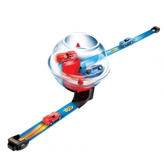 KidPlay Friction Powered Globe Racing Play Set 59 Inch Track