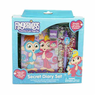 KidPlay Products Fingerlings Friendship at your Fingertips Secret Diary 7 Pieces