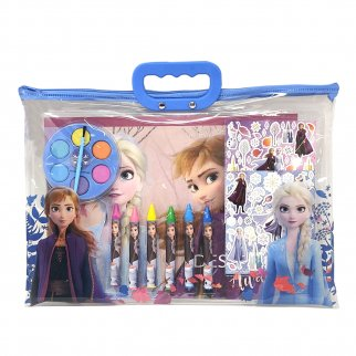 Disney Frozen 2 12 Piece Stationary Craft Gift Set in Zipper